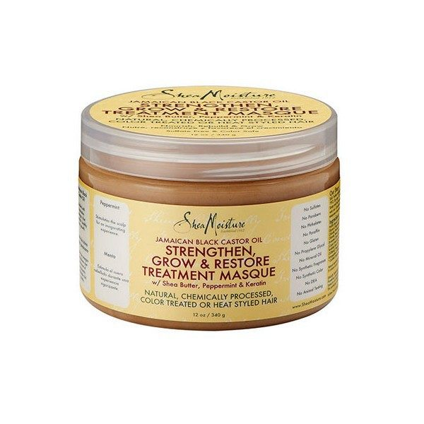Shea Moisture MASQUE CROISSANCE RICIN BLACK CASTOR OIL (TREATMENT MASQUE)