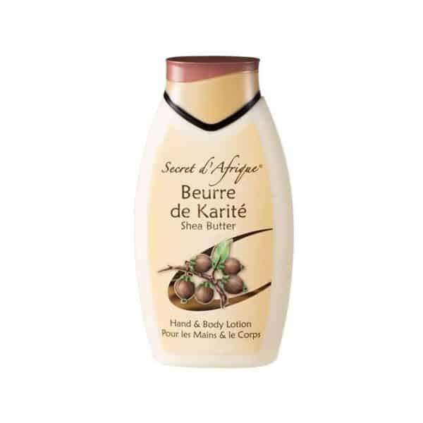 beurre karite secret d'afrique